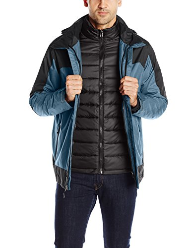 Jacket 32Degrees Systems Men's Weatherproof in 3 1 Black Steel xYrYRwvqB