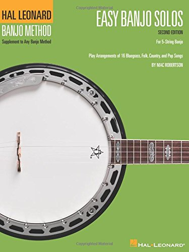 Ultimate Banjo Songbook - Easy Banjo Solos: For 5-String Banjo