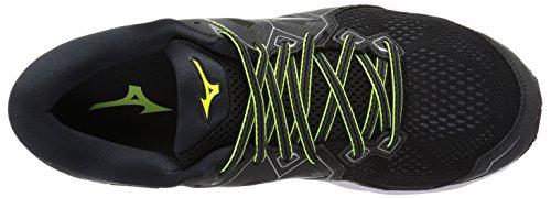 Men Black Wave Safety Sky Yellow Mizuno Shoe Running 2 Ydndv