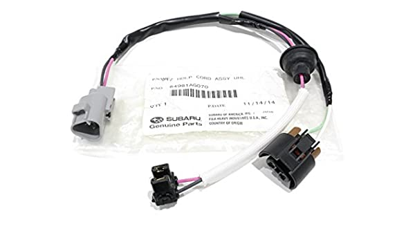 subaru oem 05-07 outback headlamp-front lamps-wire harness right  84981ag070: amazon ca: automotive