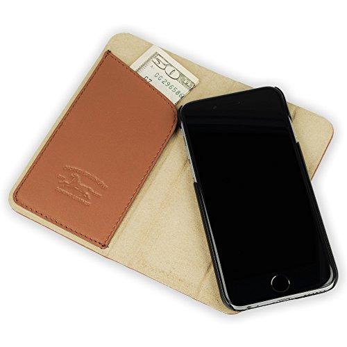 QIOTTI QP-B-0100-01-IP6 Book Slim Carrier  für Apple iPhone 6  in Magic braun