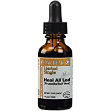 Heal All Leaf [Prunella/Self Heal], 1 Fl Oz – Prunella vulgaris - liquid herbal supplement by Cedar Bear Naturales