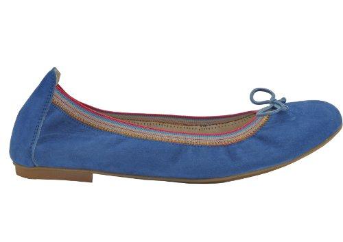 Wolpertinger Wolpina - Cerrado de cuero mujer azul - Blau (regata (royal blue))