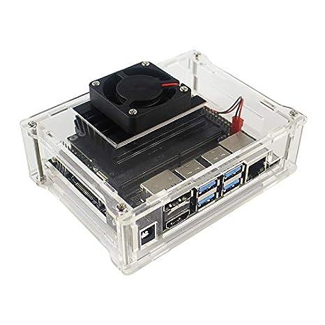Acrylic Case Box for NVIDIA Jetson Nano Developer kit Case Shell Enclosure Cooler(Just Box)