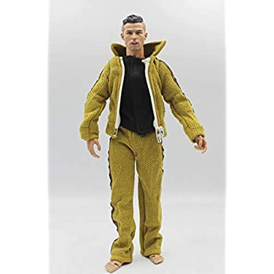 Studio one 1/6 Scale Male Figure Causual Clothes Set Jacket T-Shirt Pant for 12 inches Action Figure Body: Toys & Games