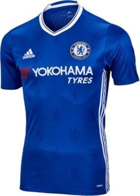 reputable site 39393 cc81b Amazon.com : Adidas Chelsea FC Home Authentic Jersey-CHEBLU ...