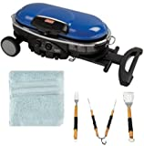 Coleman Roadtrip Propane Grill Lxe (Blue) with Grill Tool...