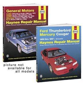 (Haynes Publications 50010 Repair Manual )