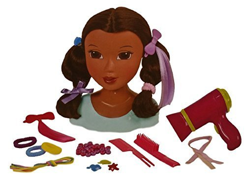 Search : Kid Connection Beauty Salon - Black African American Styling Hair Doll