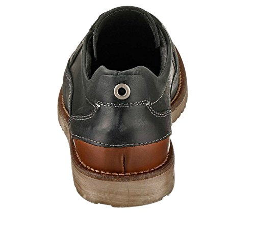 MARC 570805 chaussures homme sneakers chaussures cuir 41 eU uK 7,5 anthracite