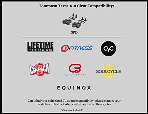 Tommaso Terra 100 Donna Montagna / Fitness Spd Bike Spin Scarpa Nera / Rossa