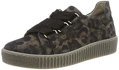 Gabor Women's Low-Top Sneakers, Grey (Anthrazit (Fumo) 39), 6 us
