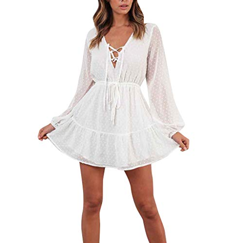 - Womens Off Shoulder Floral Mini Dress boeson Dresses Summer Sundress Party Beach