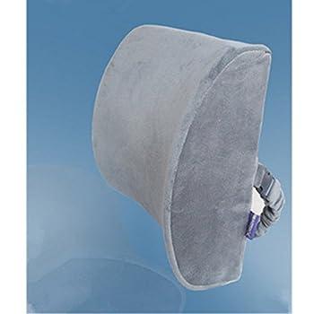 KAKA(TM) Memory Foam Mesh Breathable Lumbar Support Cushion Back Cushion-Gray
