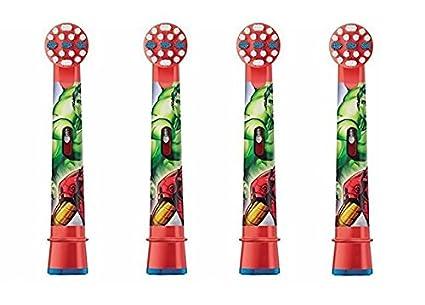 Cabezales de repuesto de Oral B para cepillo de dientes eléctrico de niñ