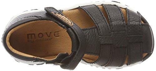 MOVE Boys-trecking-Sandalen, Zapatillas de Senderismo Para Niños Schwarz (Black)