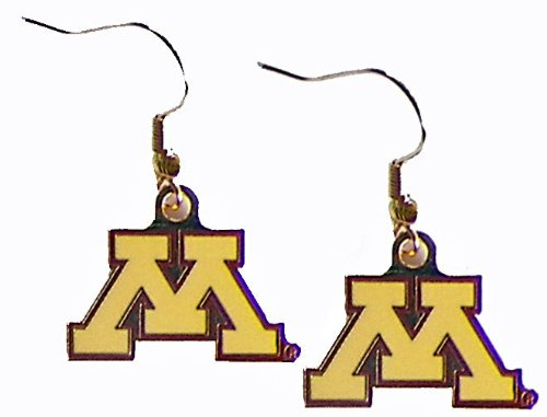 Minnesota Golden Gophers - NCAA Team Logo Dangler Earrings by aminco