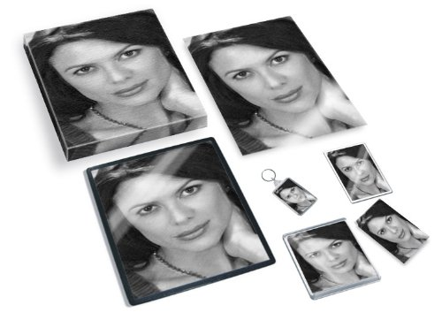 KARI WUHRER - Original Art Gift Set #js002 (Includes - A4 Canvas - A4 Print - Coaster - Fridge Magnet - Keyring - Mouse Mat - Sketch Card)