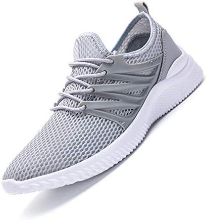 [해외]WLK 신 번 조깅 화 운동 화 신발 워킹 화 초경량 스포츠 피트 니스 트레이닝 슈즈 쿠션 남성 체육관 신발 운동 화 통근 일상 착용 / WLK New Running Shoes Sneakers Walking Shoes Lightweight Sports Fitness Training Shoes Cushions Men`s Gym S...