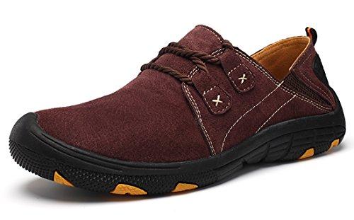 TDA - zapatilla baja hombre rojo vino