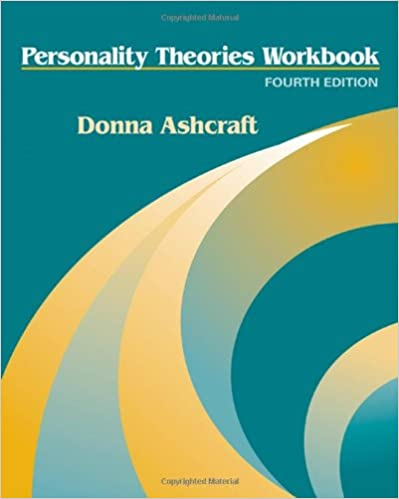personality theories workbook answers