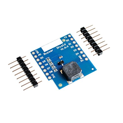 SuperiParts 10PCS/LOT Buzzer Shield V1.0.0 for WEMOS D1 mini