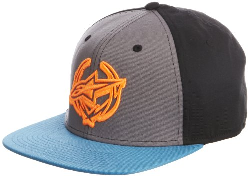 Costume Alpinestars (Alpinestars Mens Arthur Snapback Adjustable Hat, Blue, One Size)