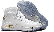 6184e84f71e6 Tvioe Shop Under Armour UA Men s Curry 4 Sports Basketball Shoes 9.5 M US