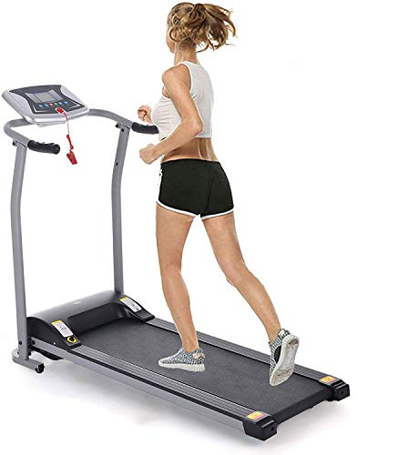 Miageek Fitness Folding Electric Support Motorized Power Jogging Treadmills Walking Running Machine Trainer Equipment Easy Assembly [US Stock]