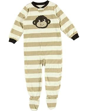 Carter's Toddler Footed Fleece Sleeper - Monkey-5T
