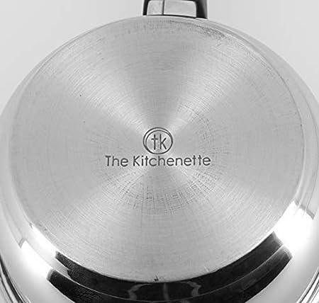 The Kitchenette 3721107 Casserole Inox 14 cm Acier Inoxydable