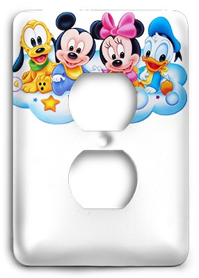 Disney Babies - Mickey Mouse Outlet Cover Home Delights