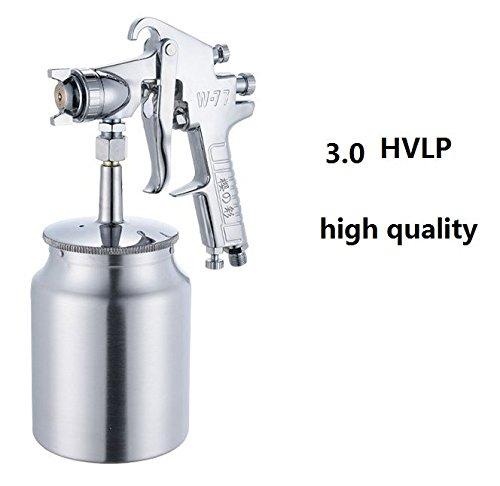 Best Spray Gun For Pressures - 3.0 HVLP Touch-down Spray Gun Grade