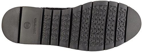 Rockport Damen Devona Dreda Strap Loafer Slipper Schwarz (Black Patent)