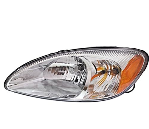 Aftermarket Taurus Ford (00-07 Ford Taurus Left Driver Headlamp Assembly w/chrome bezel)