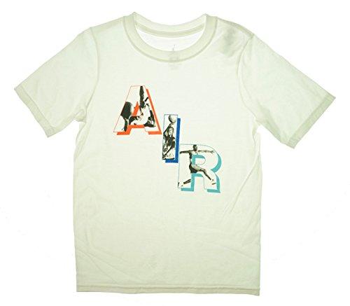 Jordan Jungen Air Short Sleeve Shirt (klein) White