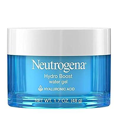 Neutrogena Hydro Boost Hyaluronic Acid Hydrating Water Face Gel Moisturizer for Dry Skin, 1.7 fl. oz (.5 Pack (1.7 Oz)) by Neutrogena