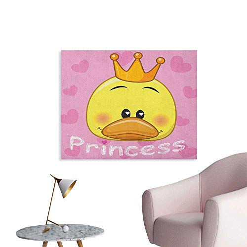 Anzhutwelve Teen Girls Wallpaper Adorable Princess Duck with