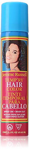 jerome russell Temporary Spray, Black for $<!--$4.92-->