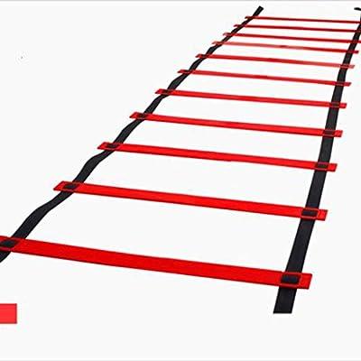 MELAG Escalera Deportiva de la escalerade Entrenamiento Escalera de Entrenamiento de fútbol Escalera ágil de Salto Agilidad Escala de energía Escalera de Entrenamiento múltiples Colores Pueden Elegir: Amazon.es: Hogar