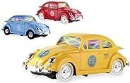Carrinho Fusca Com Sons E Luzes 3d Bate E Volta E Gira 360º Carrinho de Brinquedo Barato Carrinho Brinquedo In