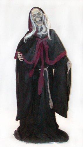 Halloween Cheap Ideas Costumes (Hanging Shrouded Skeleton Halloween)