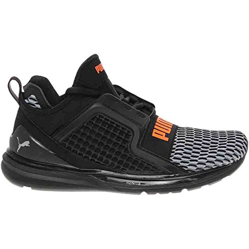 PUMA Herren Ignite Limitless Cross-Trainer Schuh Schwarz / Orange