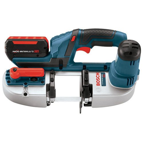 Bosch BSH18001RT 18V Cordless Lithium-Ion 2-1/2 in. Portable Band Saw Kit (Certified Refurbished)