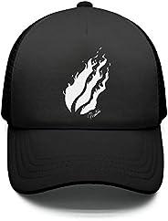 YJRTISF Popular Music Preston-Logo- Cool Hat Top Stations Snapback Cap for Kids Boys & G