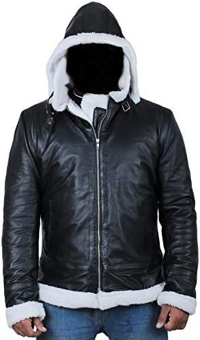 1710048 Laverapelle Mens Black Genuine Lambskin Leather Jacket