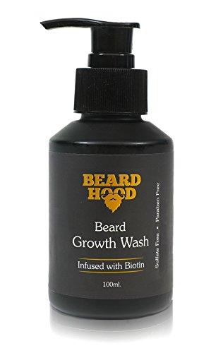 Beardhood Beard Growth Wash Biotin And Aprikot Kernel Oil 1