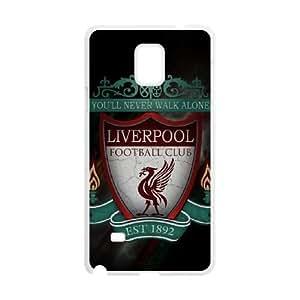 Samsung Galaxy S4 Phone Case White Liverpool Logo NLG7809685