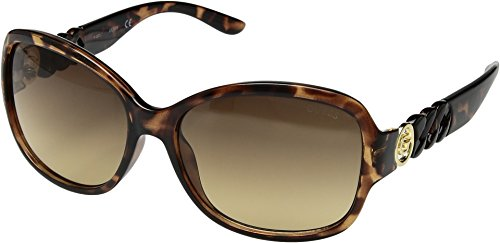GUESS Factory Women's Round Chain-Temple - Sunglasses Oversized Guess