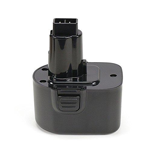 PowerGiant 12V 2.0Ah Replacement Battery for Black & Decker PS130 Firestorm 12-Volt Battery Pack; Dewalt DW9072 DC9071 DW9071 DW972 DW953 DW980 DW930 DC528 DW904 DC727KA Power Tools